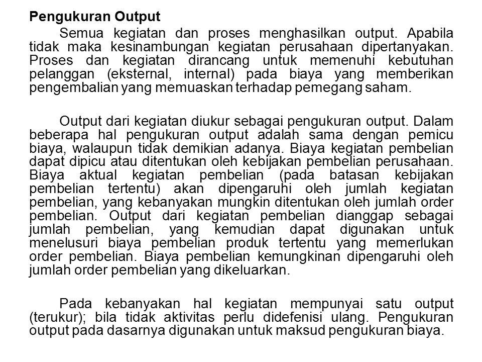 Pengukuran Output