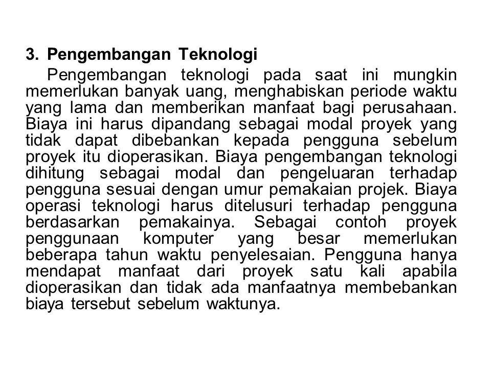 Pengembangan Teknologi
