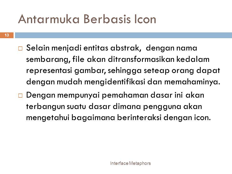 Antarmuka Berbasis Icon