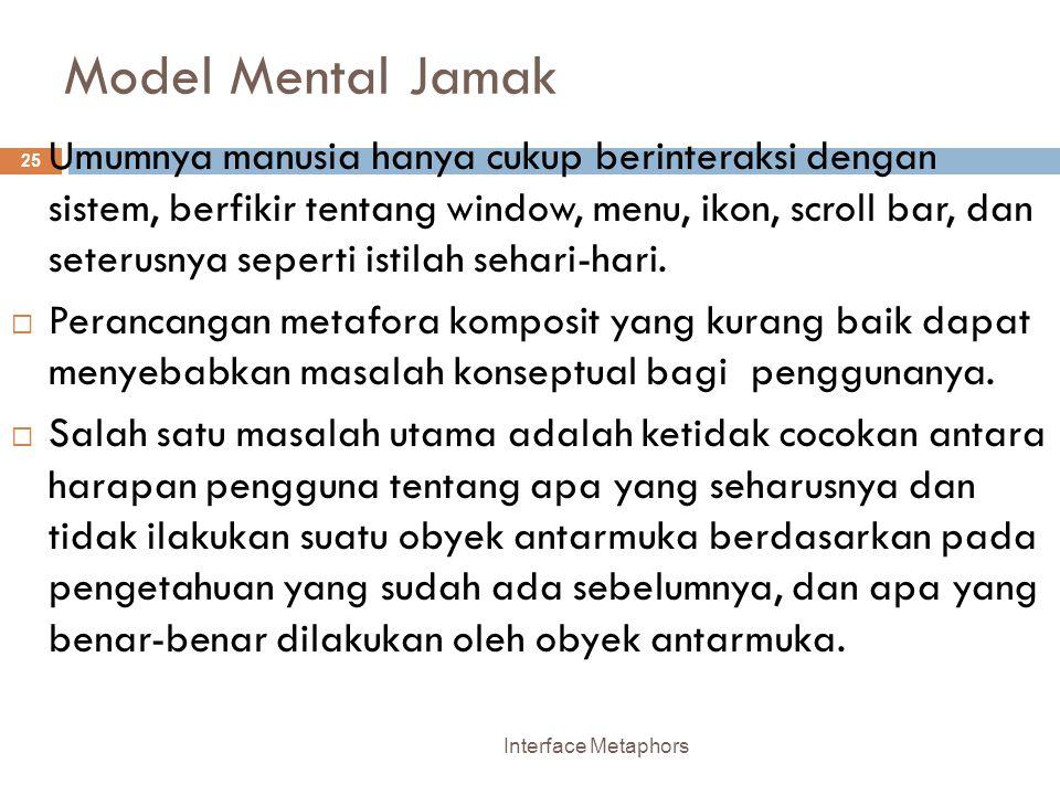 Model Mental Jamak