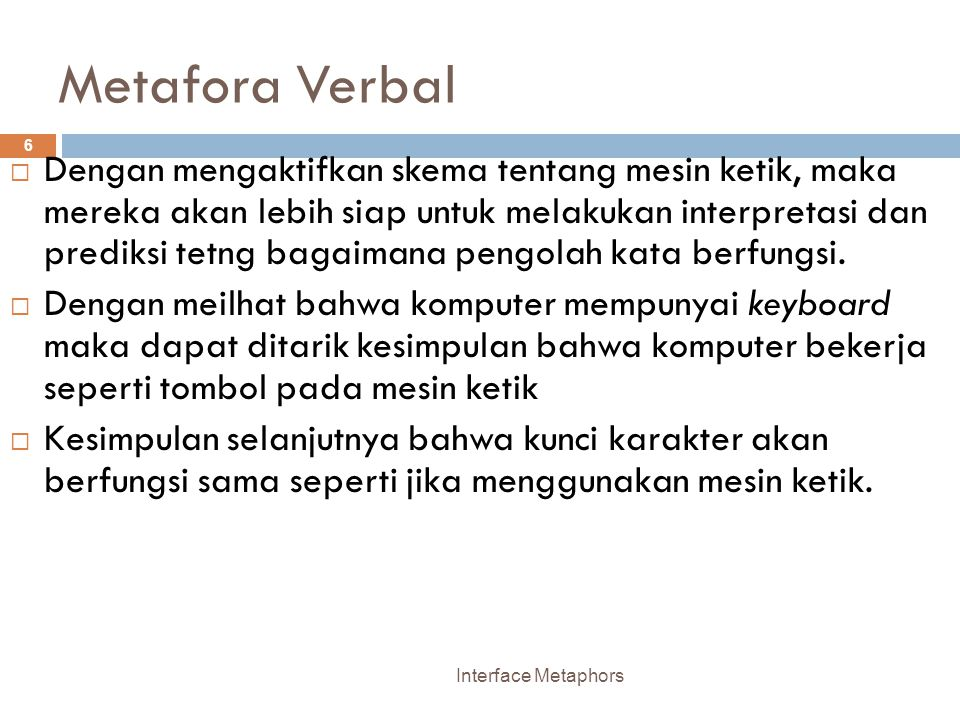 Metafora Verbal