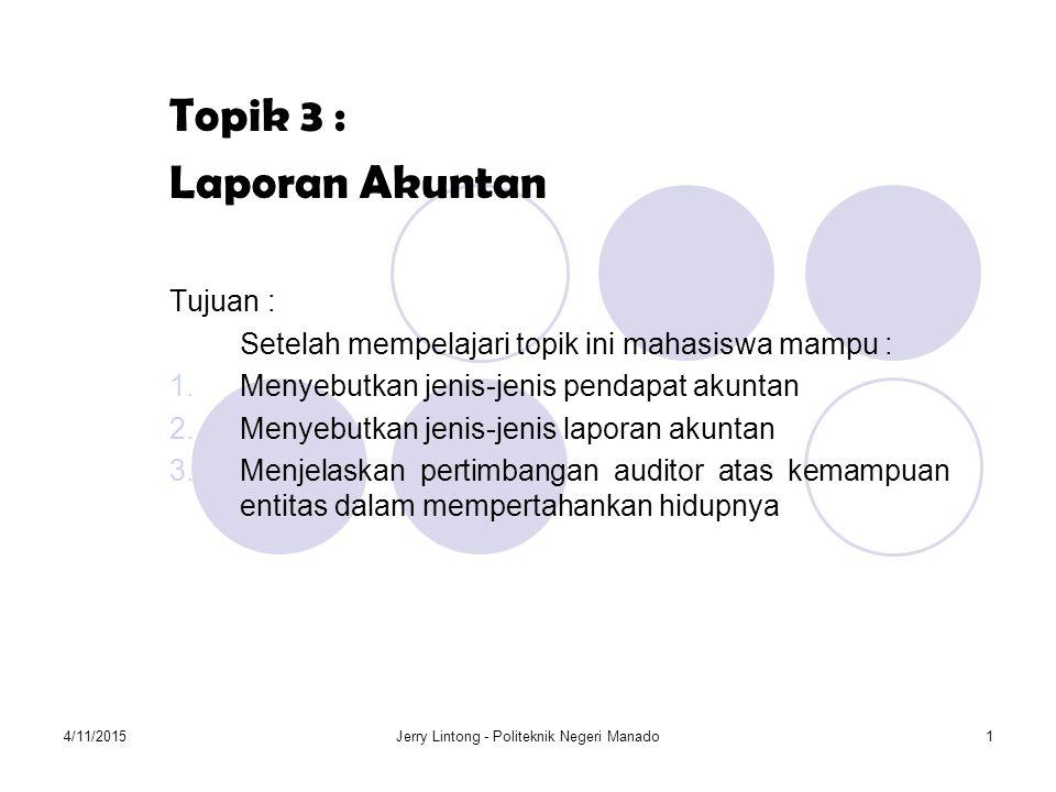Jerry Lintong - Politeknik Negeri Manado
