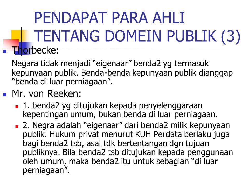 PENDAPAT PARA AHLI TENTANG DOMEIN PUBLIK (3)