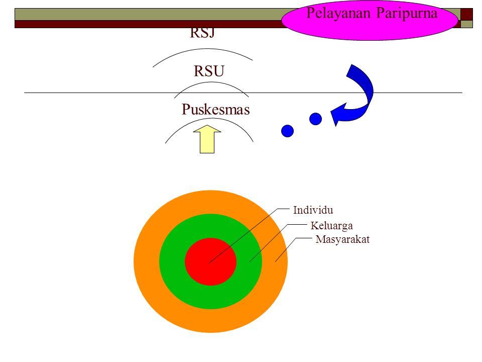 Pelayanan Paripurna RSJ RSU Puskesmas