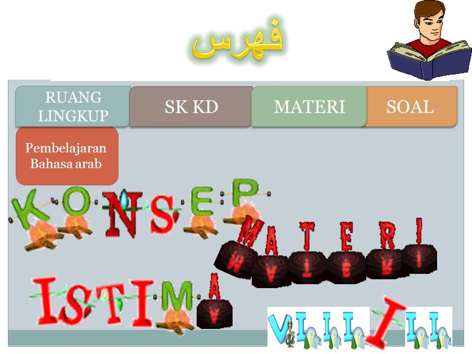 Pembelajaran Bahasa arab