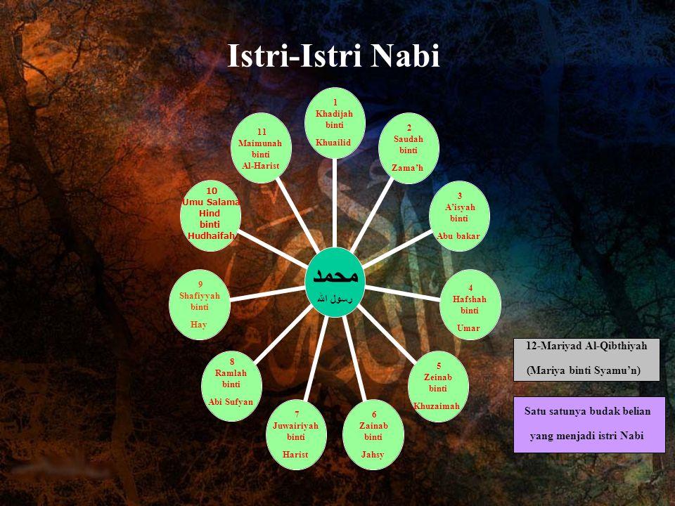 12-Mariyad Al-Qibthiyah Satu satunya budak belian