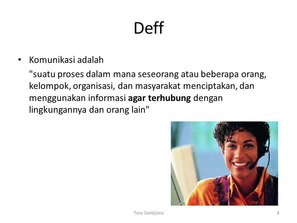 Deff Komunikasi adalah