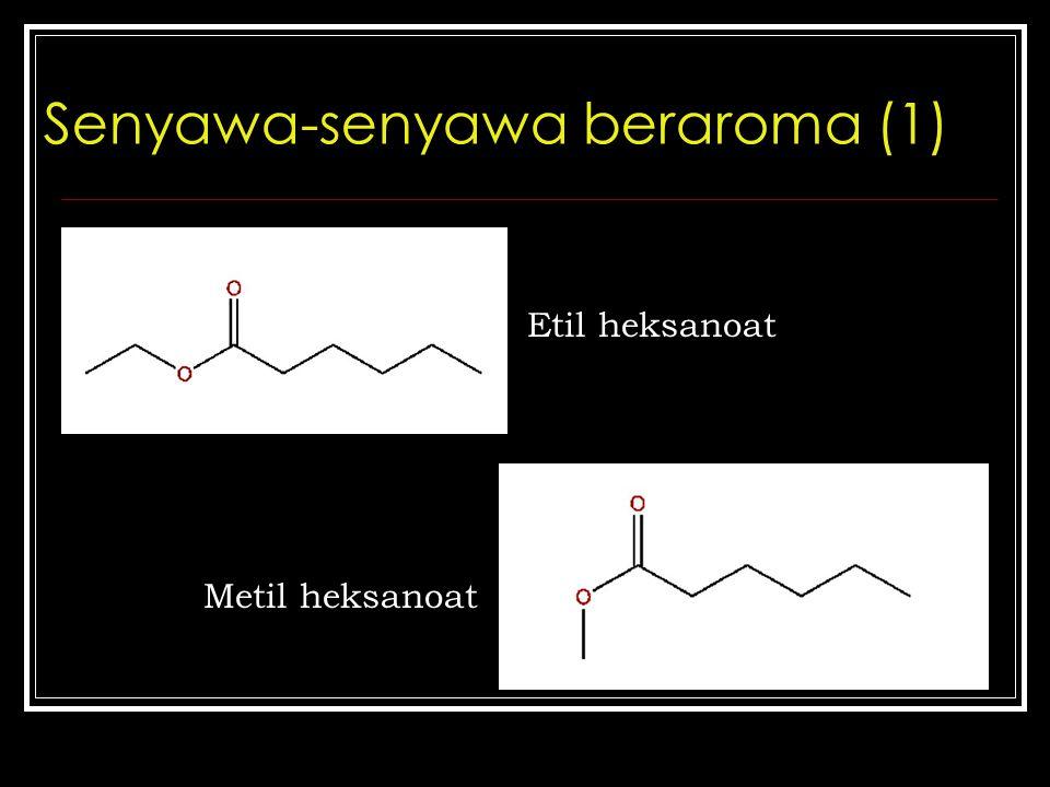 Senyawa-senyawa beraroma (1)