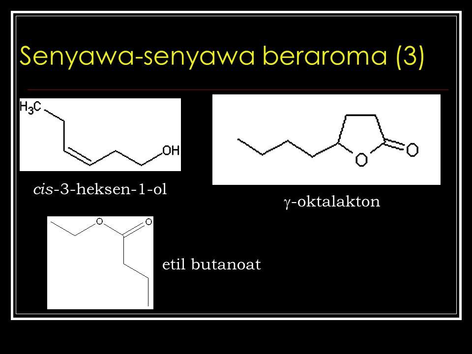 Senyawa-senyawa beraroma (3)