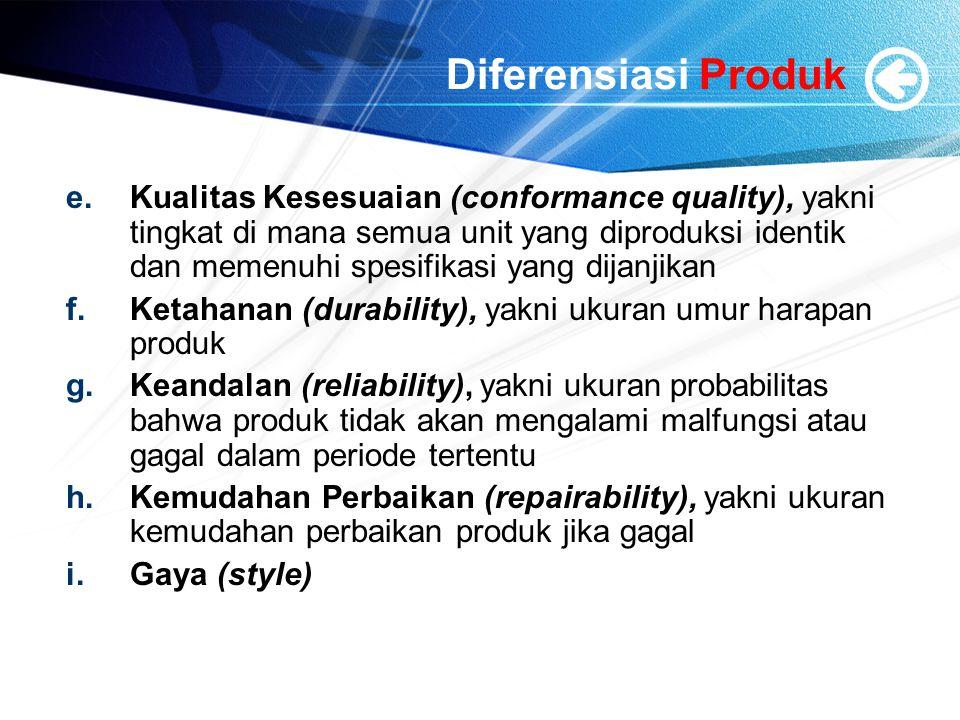 Diferensiasi Produk