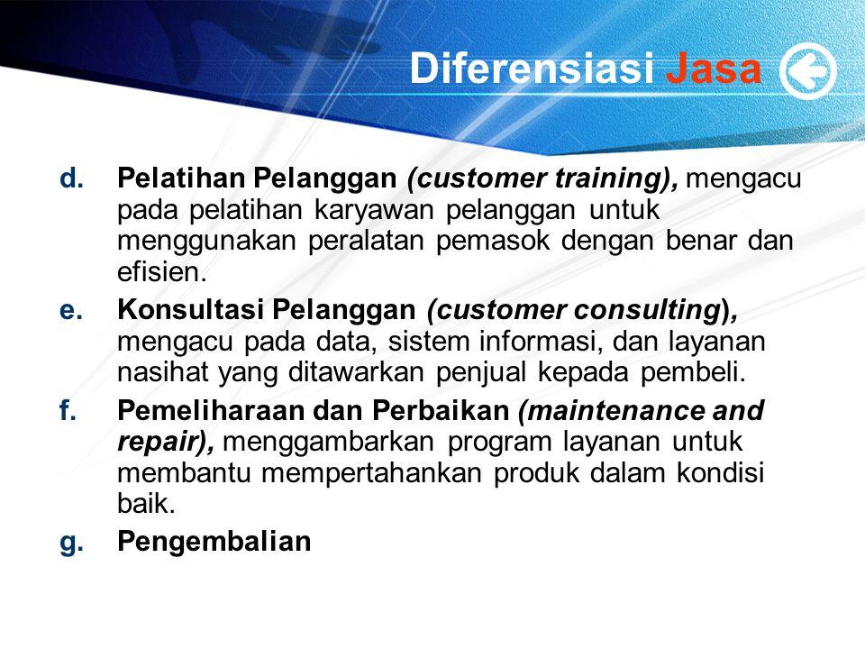 Diferensiasi Jasa