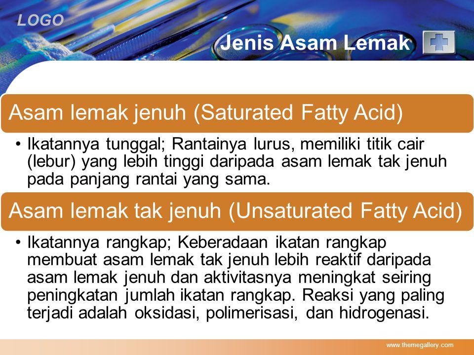 Jenis Asam Lemak www.themegallery.com