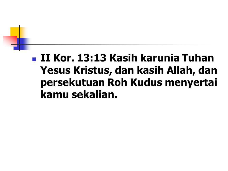 II Kor.