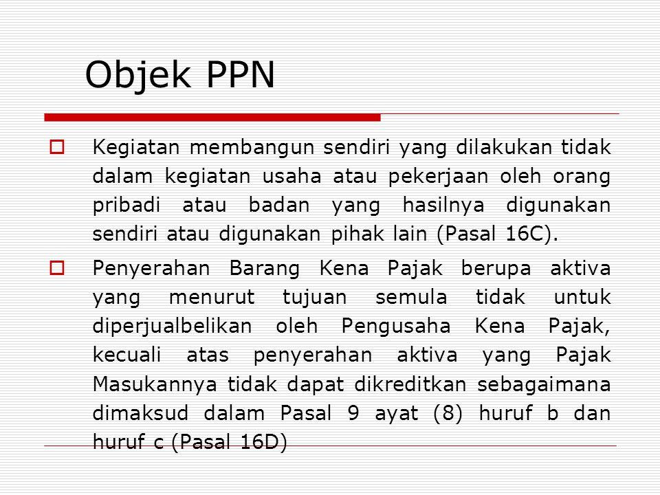 Objek PPN