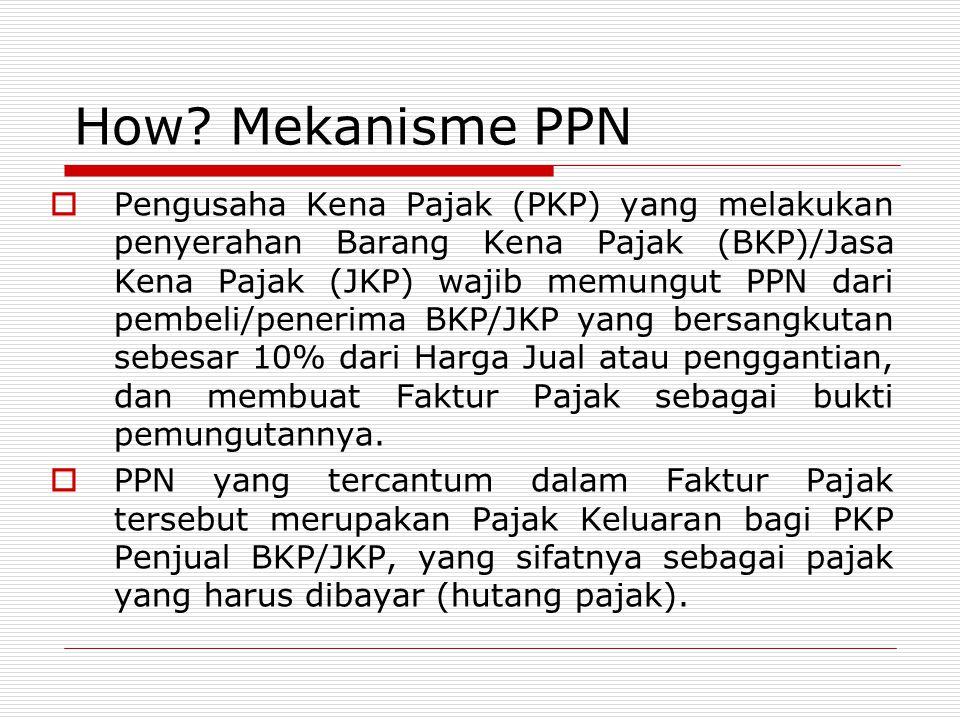 How Mekanisme PPN
