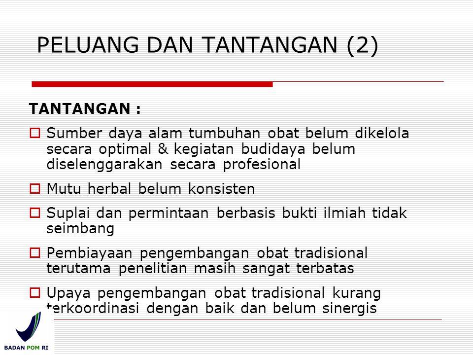 PELUANG DAN TANTANGAN (2)