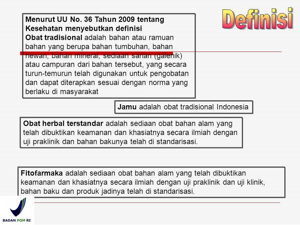 Definisi Menurut UU No. 36 Tahun 2009 tentang Kesehatan menyebutkan definisi.