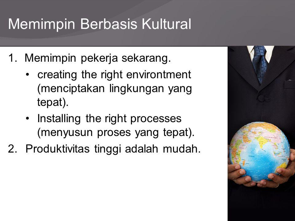 Memimpin Berbasis Kultural