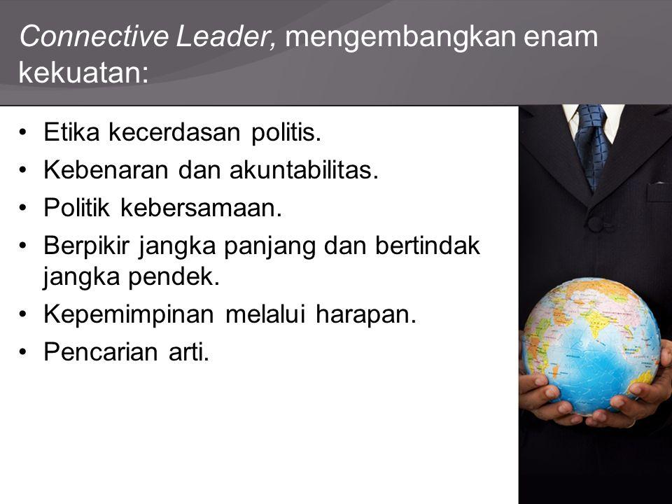 Connective Leader, mengembangkan enam kekuatan:
