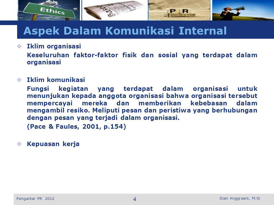 Aspek Dalam Komunikasi Internal