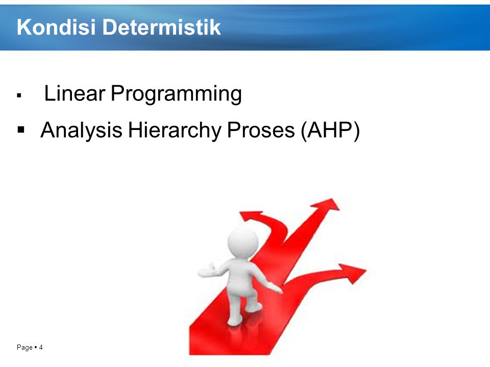 Analysis Hierarchy Proses (AHP)