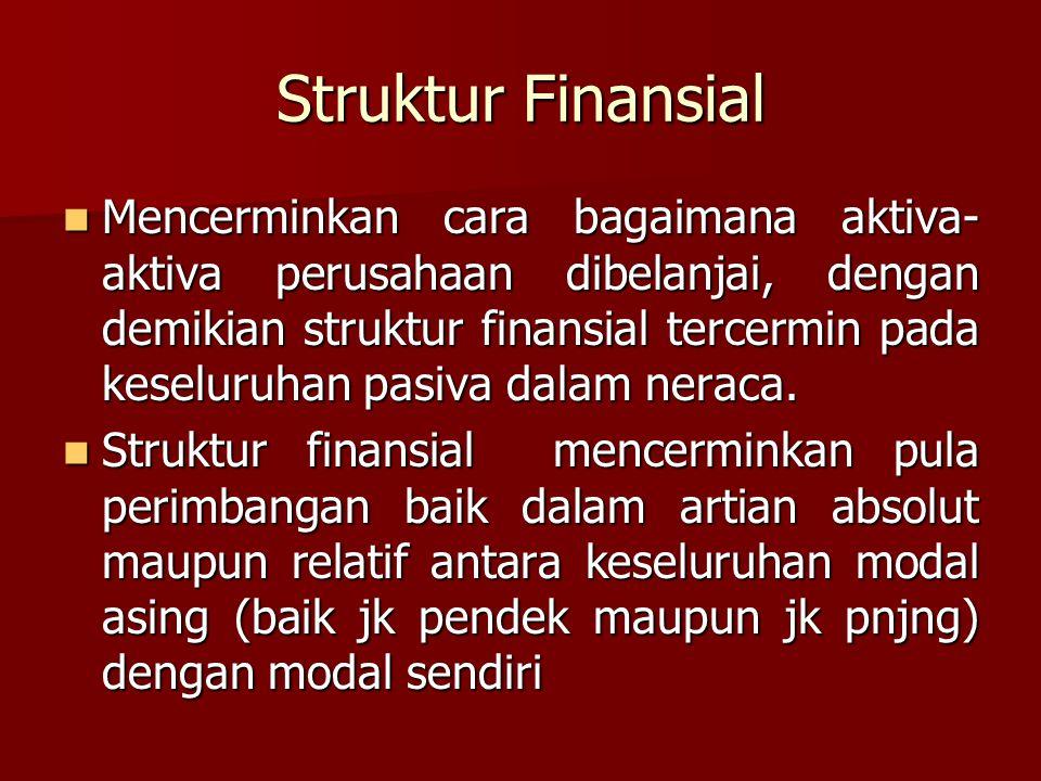 Struktur Finansial