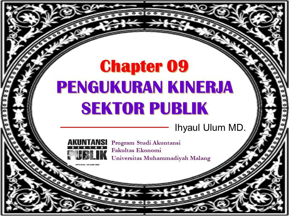 Chapter 09 PENGUKURAN KINERJA SEKTOR PUBLIK