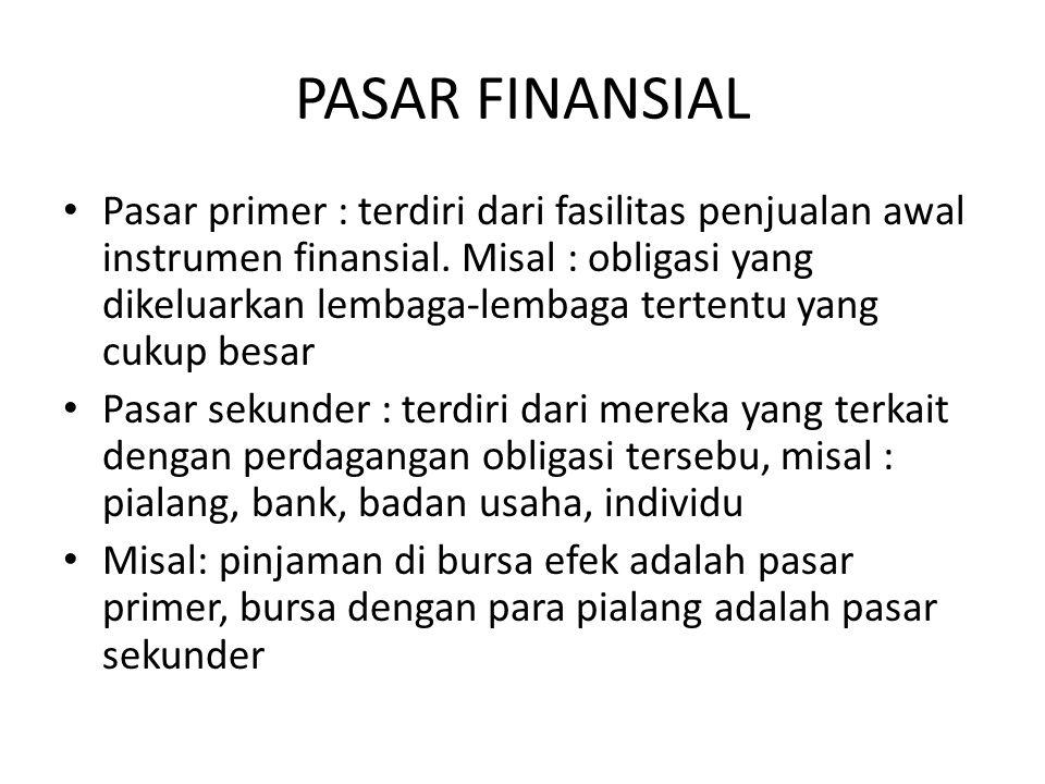 PASAR FINANSIAL