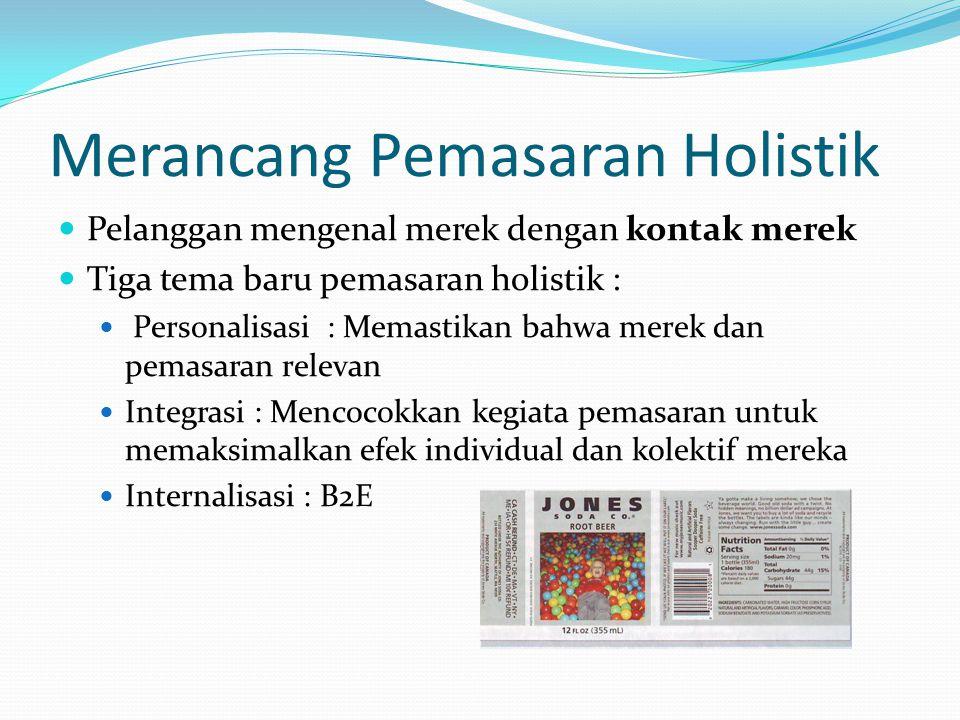 Merancang Pemasaran Holistik