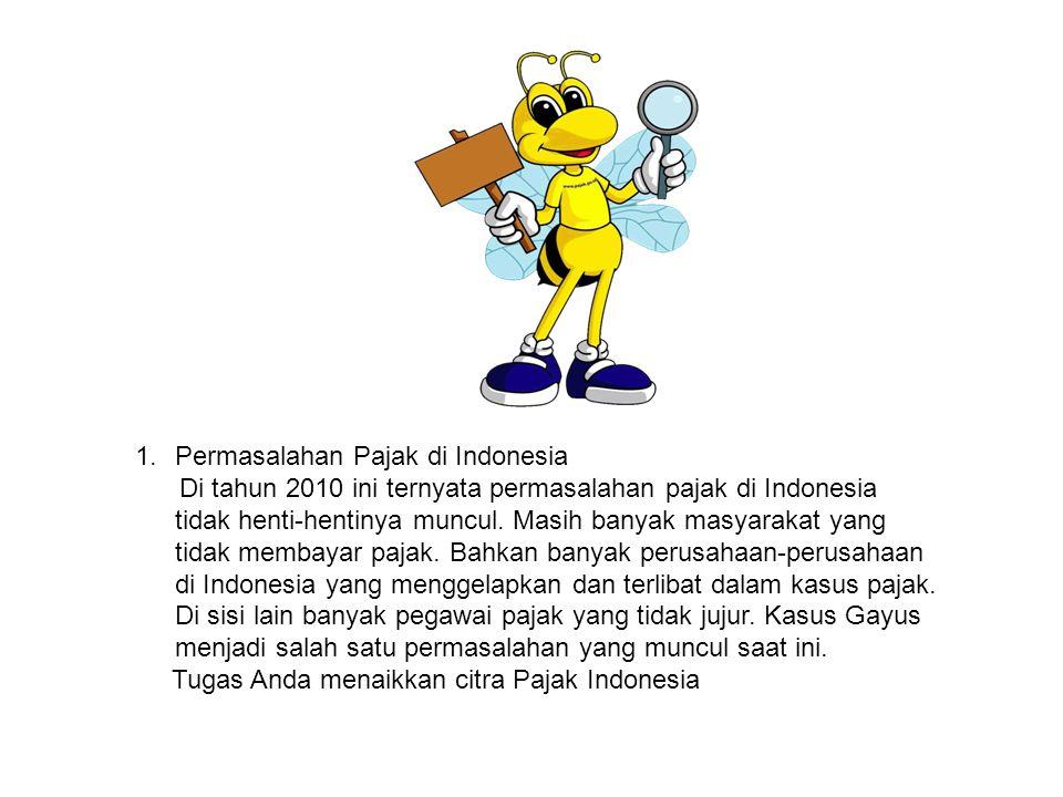 Permasalahan Pajak di Indonesia
