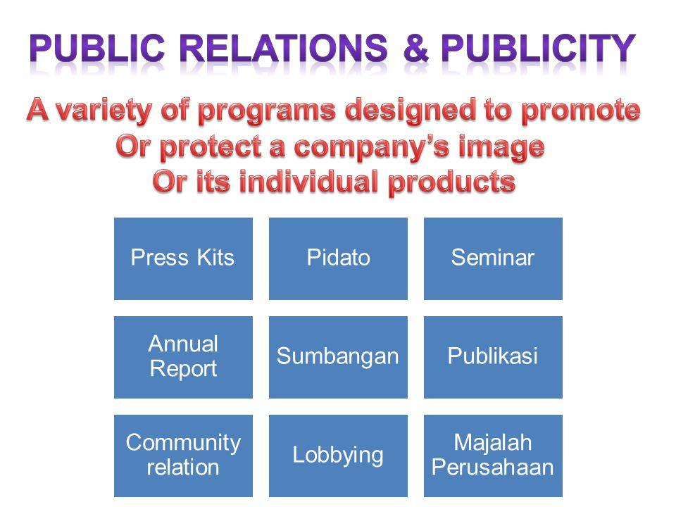 Public relations & publicity