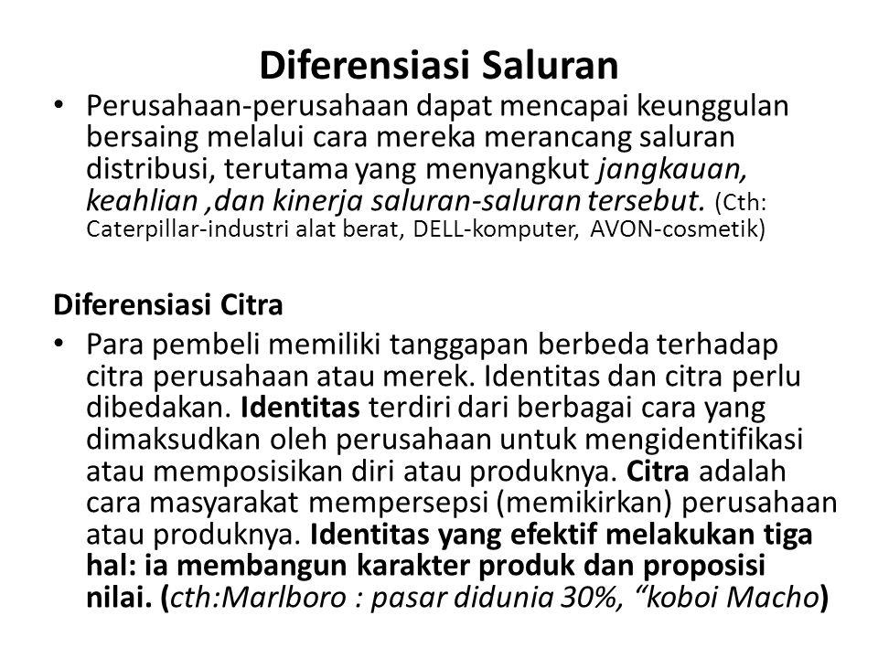 Diferensiasi Saluran
