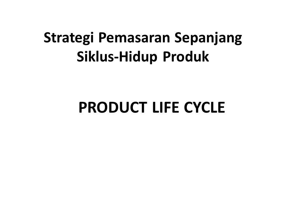 Strategi Pemasaran Sepanjang Siklus-Hidup Produk