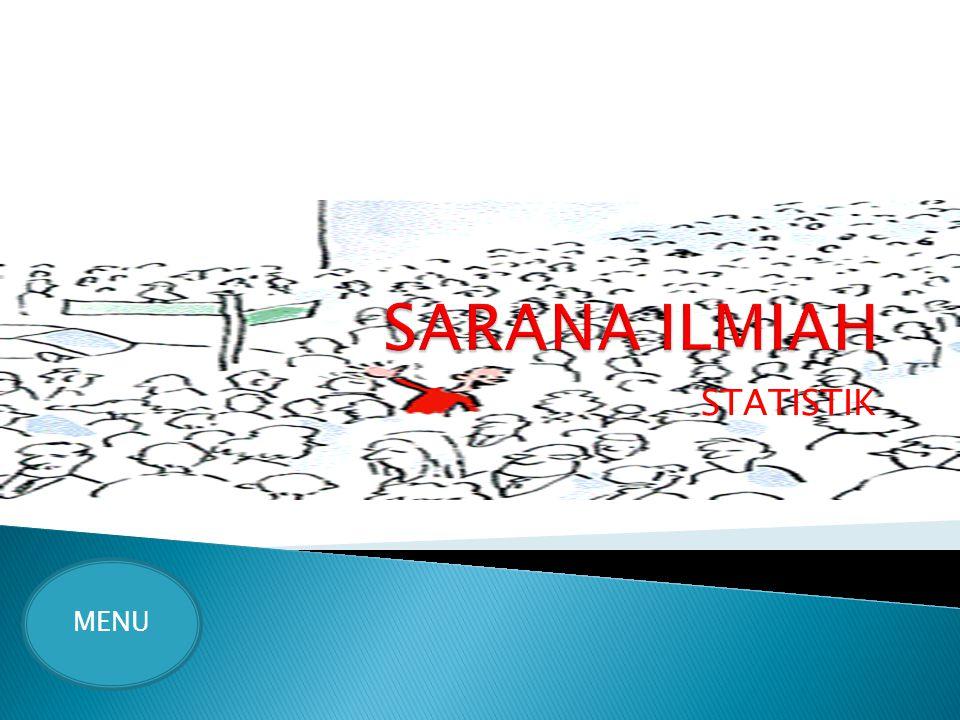 SARANA ILMIAH STATISTIK MENU