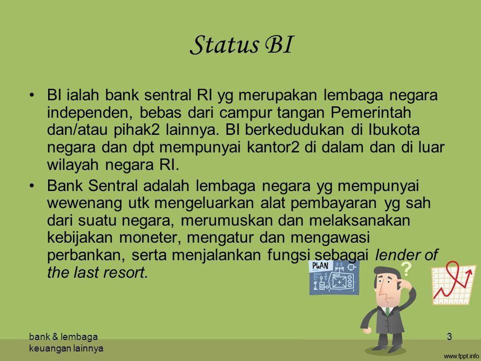 Status BI