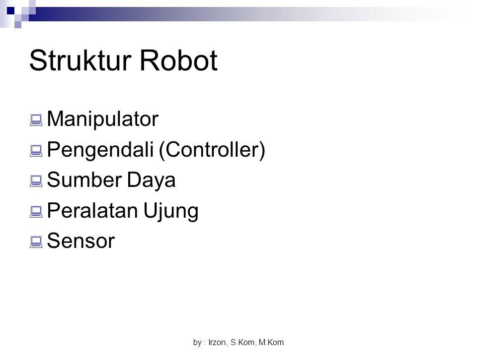 Struktur Robot Manipulator Pengendali (Controller) Sumber Daya