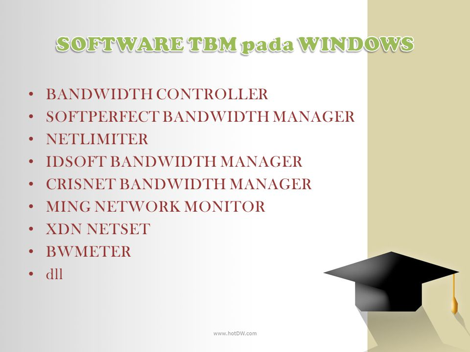 SOFTWARE TBM pada WINDOWS