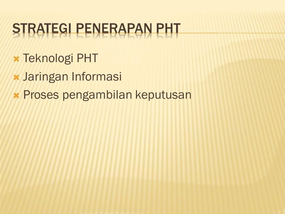 Strategi Penerapan PHT