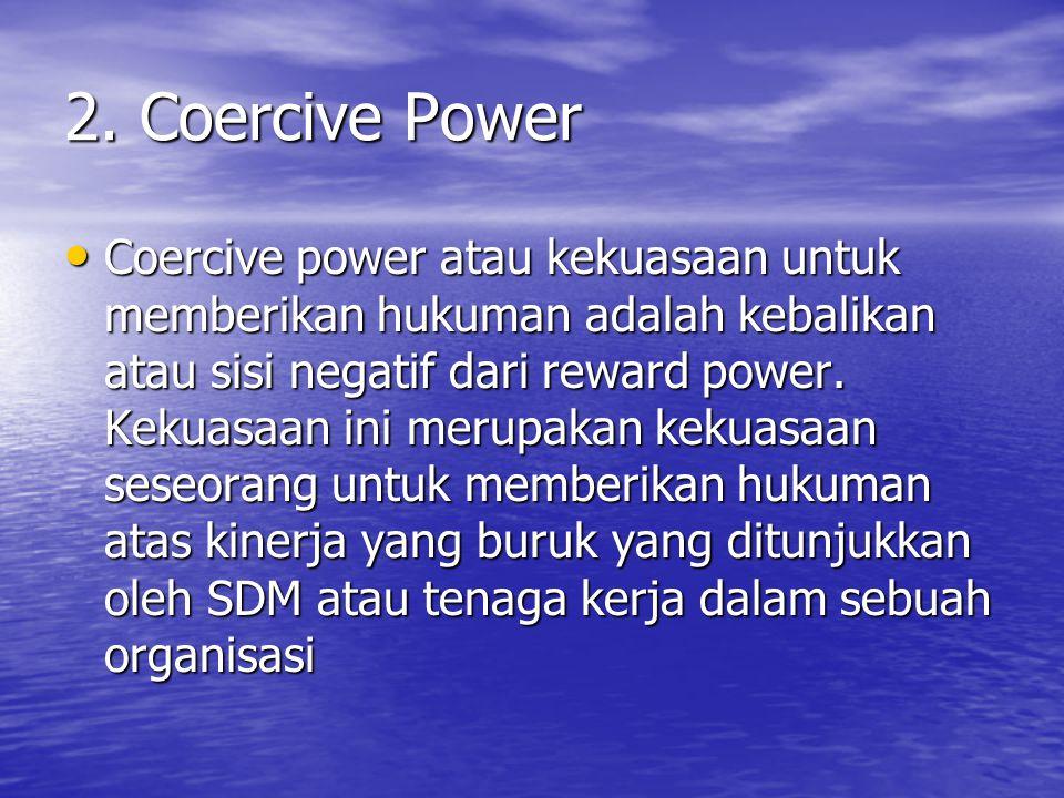 2. Coercive Power