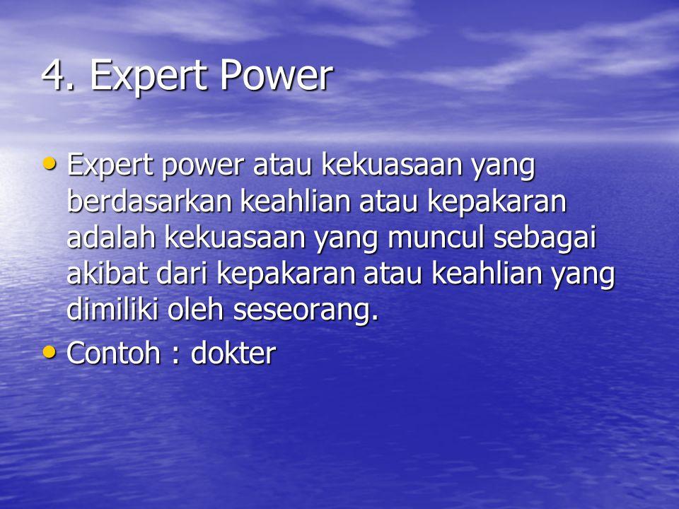 4. Expert Power