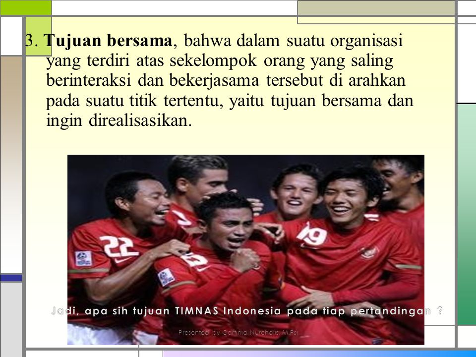Jadi, apa sih tujuan TIMNAS Indonesia pada tiap pertandingan