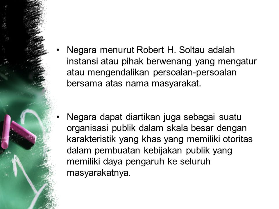 Negara menurut Robert H