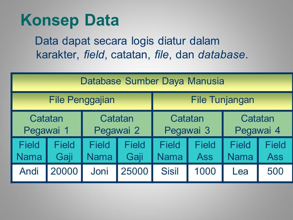Database Sumber Daya Manusia