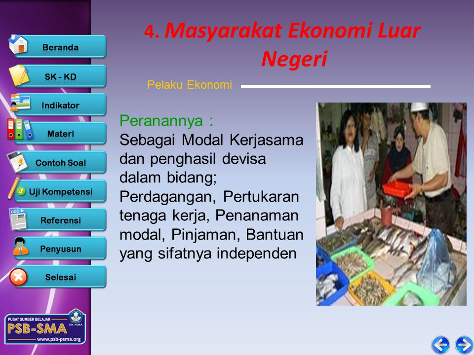 4. Masyarakat Ekonomi Luar Negeri