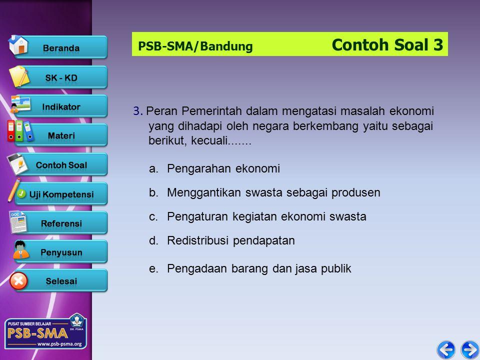 PSB-SMA/Bandung Contoh Soal 3