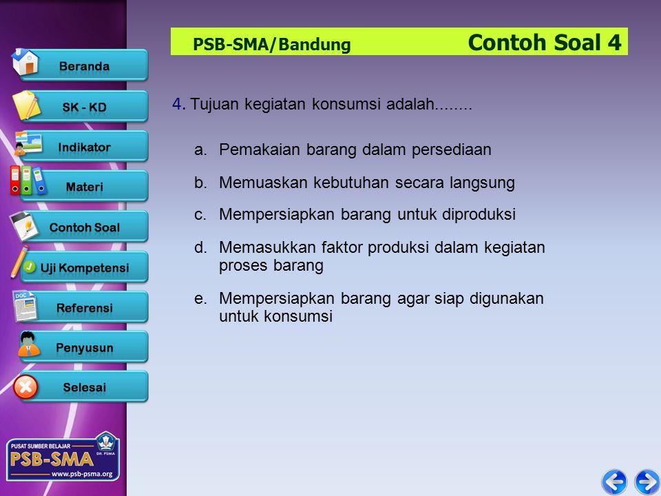 PSB-SMA/Bandung Contoh Soal 4