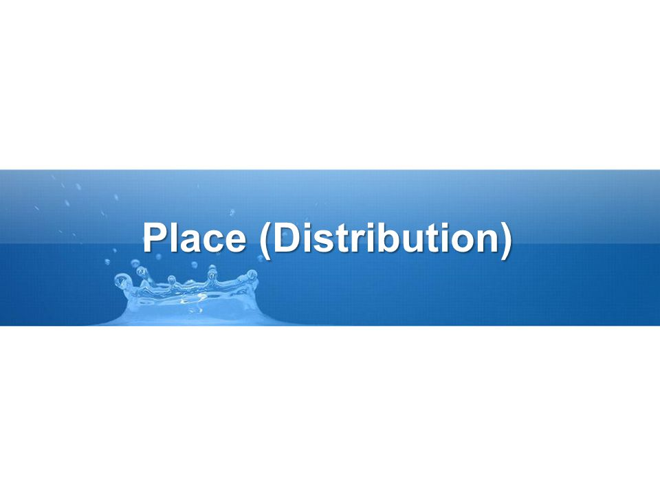 Place (Distribution)