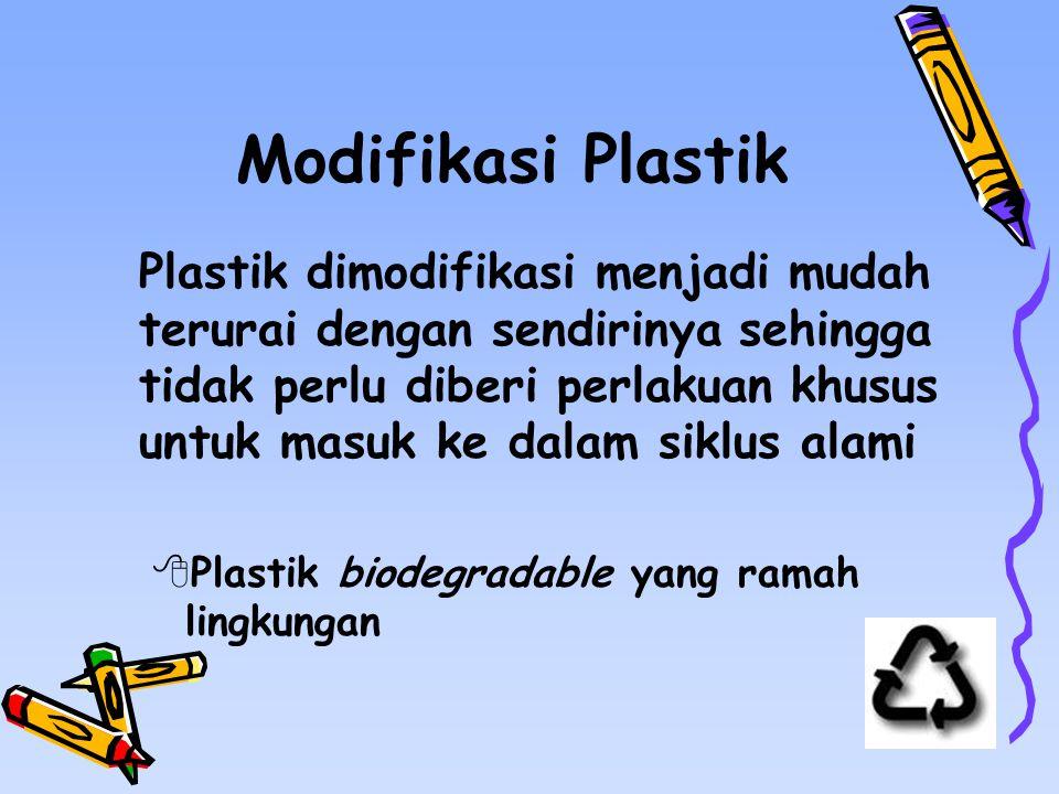 Modifikasi Plastik