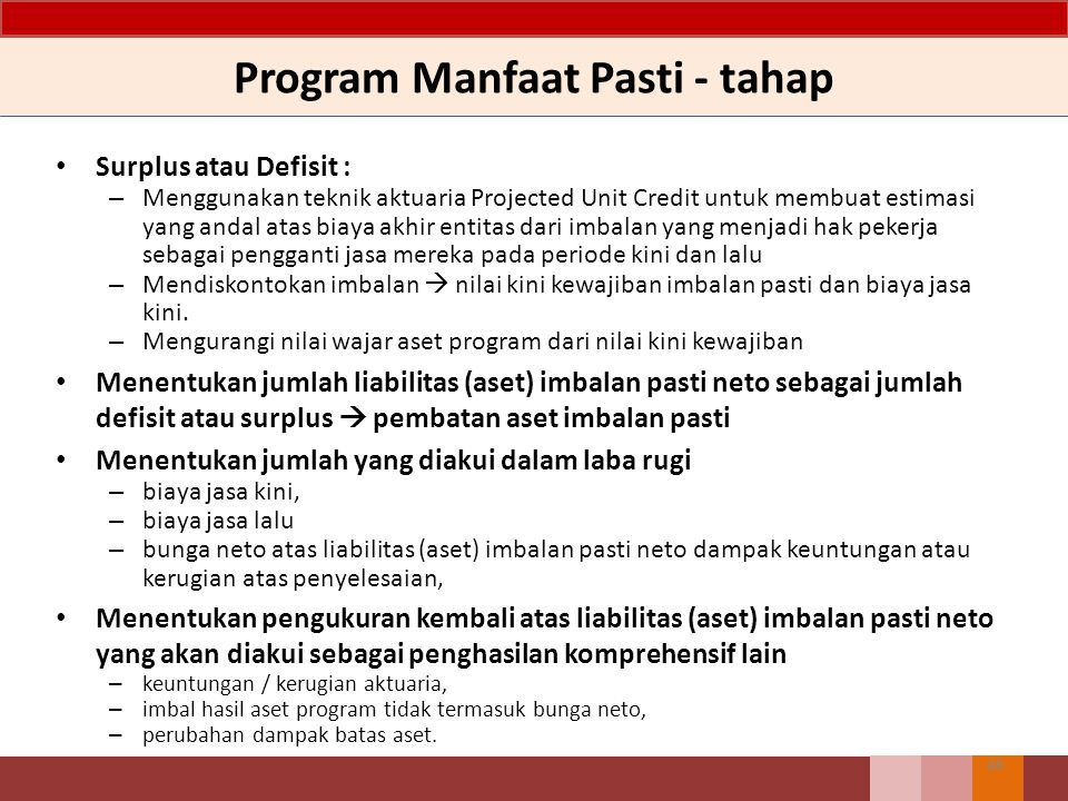 Program Manfaat Pasti - tahap