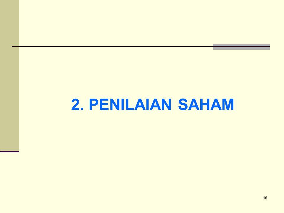 2. PENILAIAN SAHAM